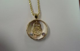 Custom Designed and Crafted Jewelry piece created by GoldSmith Jewelers of Little Falls