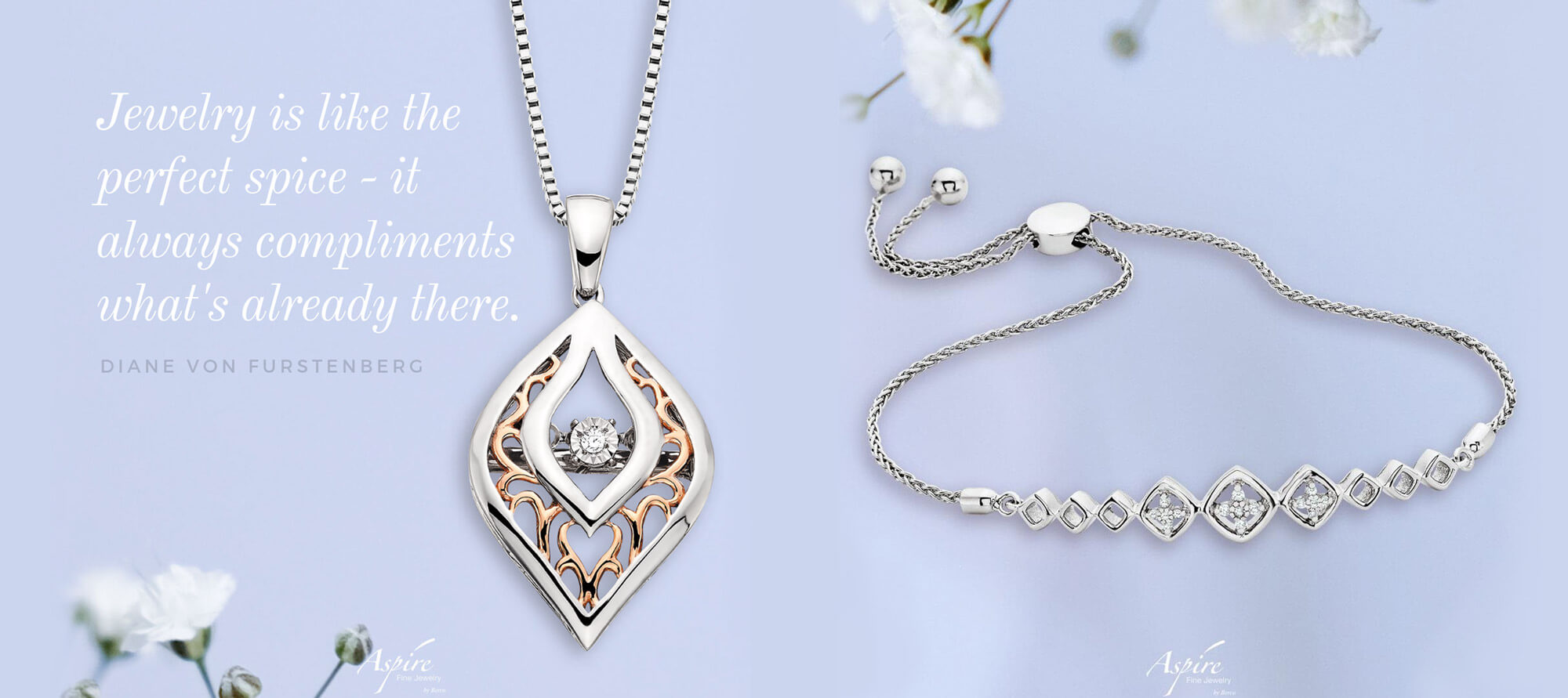 Grouping of necklaces by Aspire